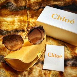 Chloe 59mm Butterfly Sunglasses